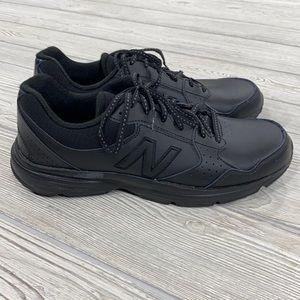 New Balance 411 Black Walking Sneakers - sz 10.5